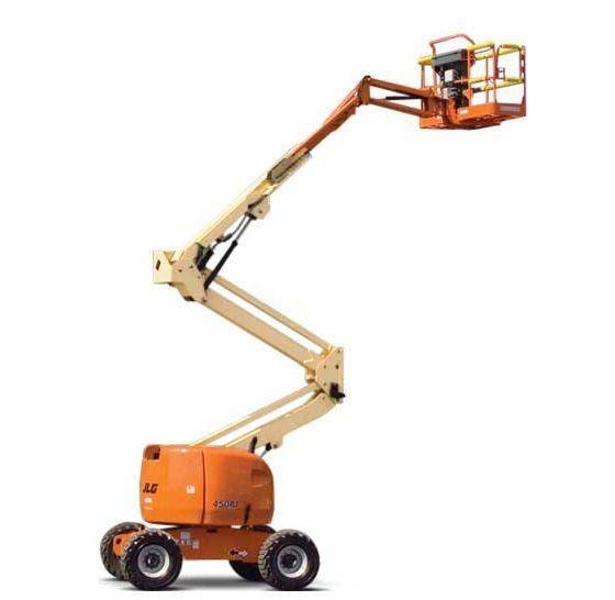 Xe nâng người boom lift thực sự hữu ích khi làm việc trên cao